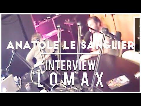 Anatole, Le sanglier du Cabaret de la Dernière Chance - Interview Lomax