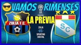 LA PREVIA 💙🏐 ️Zulia FC vs Sporting Cristal 🏐💙 | ⚽️ Copa Sudamericana 2019 ⚽