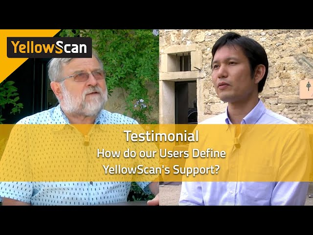 How do our users define YellowScan Support?
