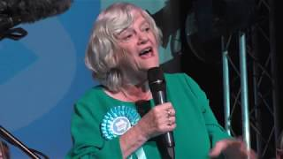 Ann Widdecombe Woos Glorious Gloucester at Guildhall !