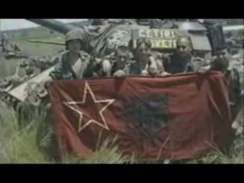 Serbian Tanks During Kosovo 1998-1999 War