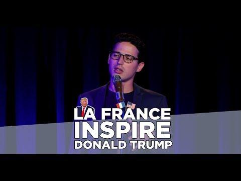 Haroun - La France inspire Donald Trump