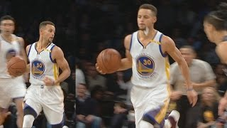 Stephen Curry Loses Mouthpiece Still Asts! Kevin Durant Dunks on Brook Lopez!