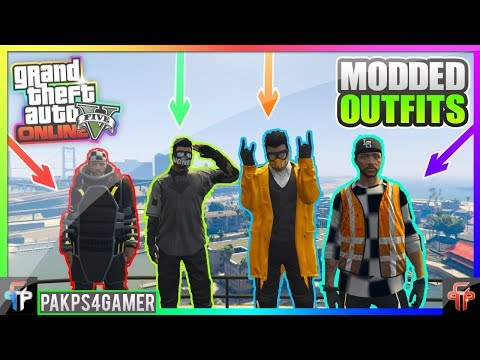 GTA 5 Online - Top 10 Modded Outfits Components! Director Mode Glitch