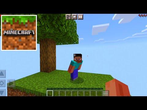 Minecraft PE - SkyBlock Survival - Gameplay Part 1