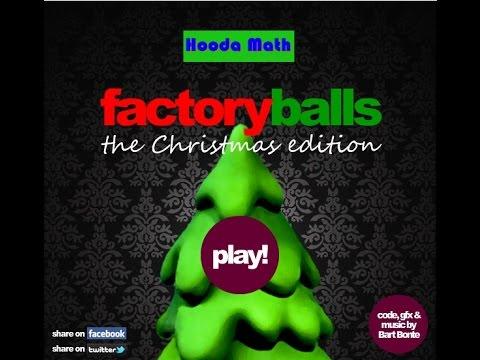Factory Balls Christmas Edition Walkthrough - YouTube