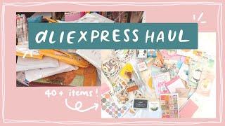 HUGE Aliexpress Stationery Haul: 40+ items