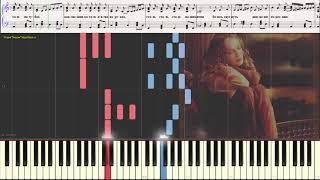 Таю - Валерия (Аккордеон) (Ноты и Видеоурок для фортепиано) (piano cover)