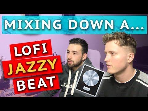JAZZ/LOFI Hiphop beat MIXDOWN in Logic Pro X!