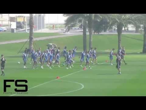 Ajax Amsterdam Training Camp Doha 2015 - Training 1