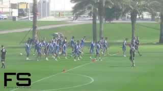 Ajax Amsterdam Training Camp Doha 2015 - Training 1