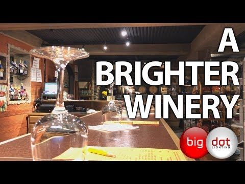 A Brighter Winery - An LED Lighting Conversion Story