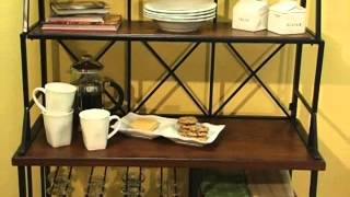 Belham Living Solano Bakers Rack with Baskets - Product Review Video