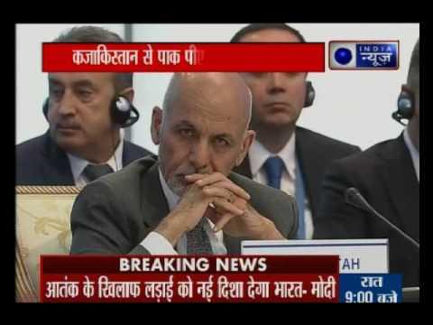 PM Narendra Modi talks in SCO Summit in Astana, Kazakhstan