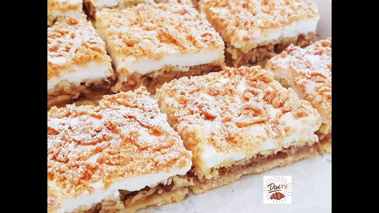 Apfel - Baiser Kuchen / traumhaft lecker / Apple Meringue Cake