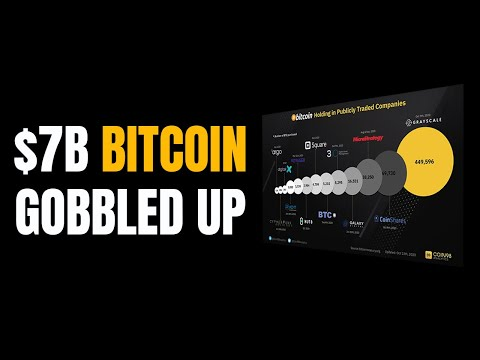 $7B Bitcoin Gobbled Up By Corporations // Crypto News Update
