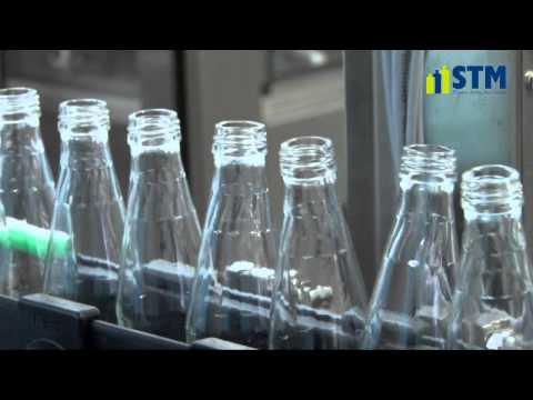Filling machine for glass PEPSI. Maszyna rozlewnicza do szkła PEPSI.