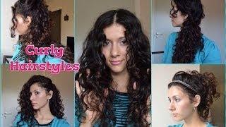 видео Прически для кудрявых волос