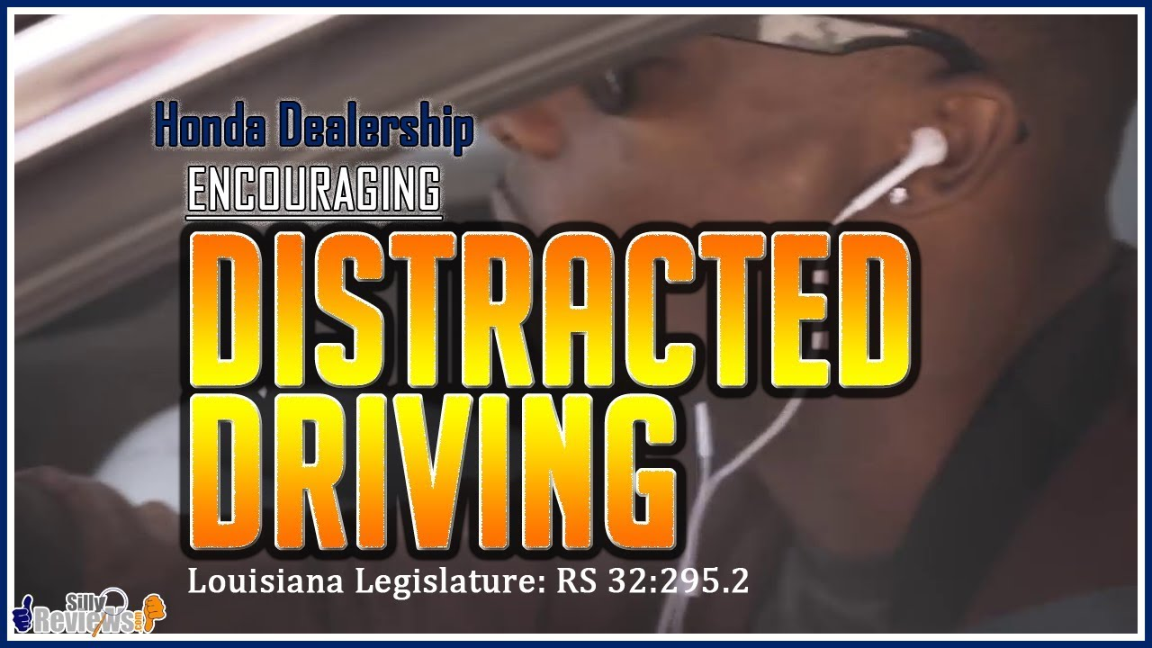 Is Driving With Headphones Illegal? Superior Honda Of New Orleans  Encourages Distracted Driving .