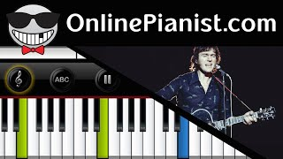 Ralph McTell - Streets of London - Piano Tutorial & Sheets (Easy Version)
