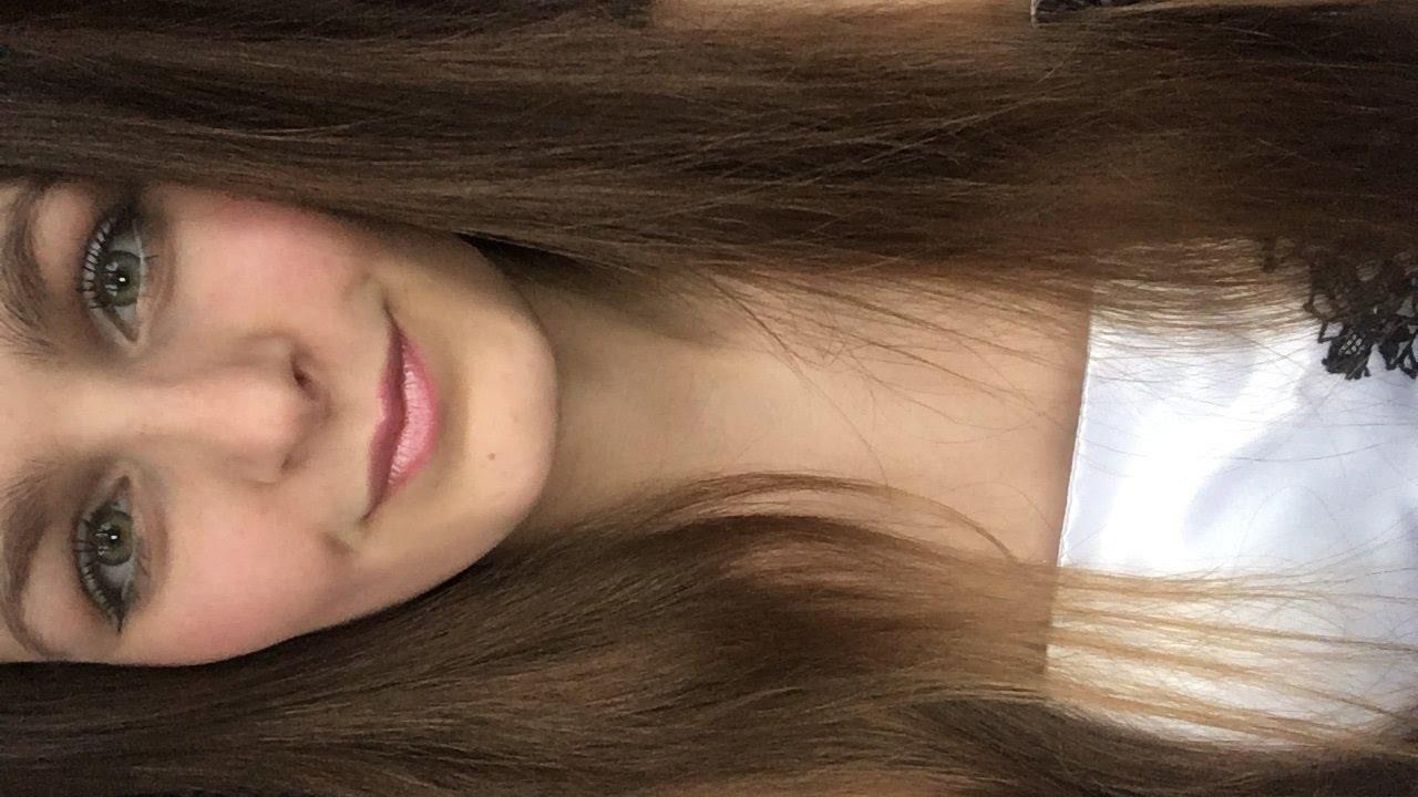 White Dress Prom Makeup Tutorial Youtube