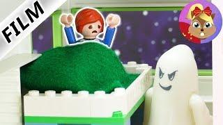 摩比游戏 Playmobil 玩偶影片 艾玛的恶作剧 扮鬼吓唬小尤