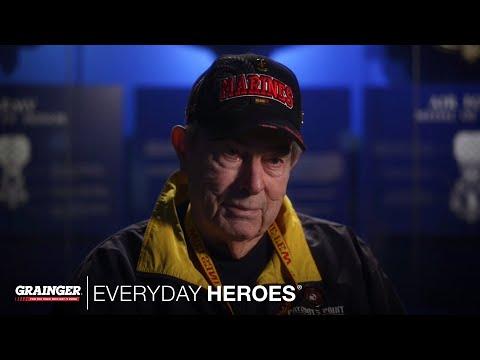 video:Grainger Everyday Heroes: Dick Whitaker, U.S. Marines