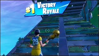 Fortnite Junk Junction Win (Victory Royale) - Clinical Crosser Skin Gameplay