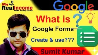 How To Create Google Forms ? in hindi !!