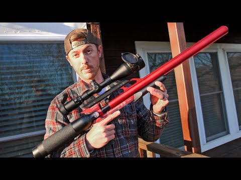 NEW SILENT Airforce Air Rifle | Backyard Coyote Problem Solver!