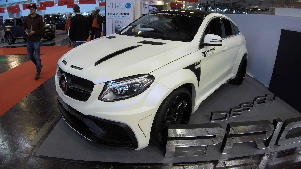 Mercedes Benz Gle Coupe >> MERCEDES BENZ GLE COUPE COMPILATION 2: PRIOR DESIGN MATTE ...
