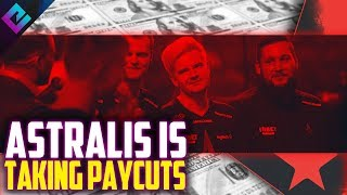 Astralis Taking PAY CUTS but NOT Some Players?