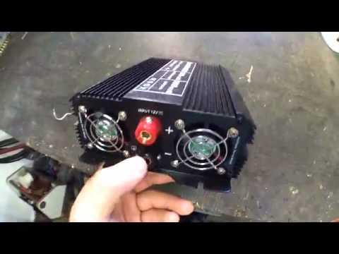 Spannungswandler Auto Kühlschrank : Testbericht tectake spannungswandler w youtube