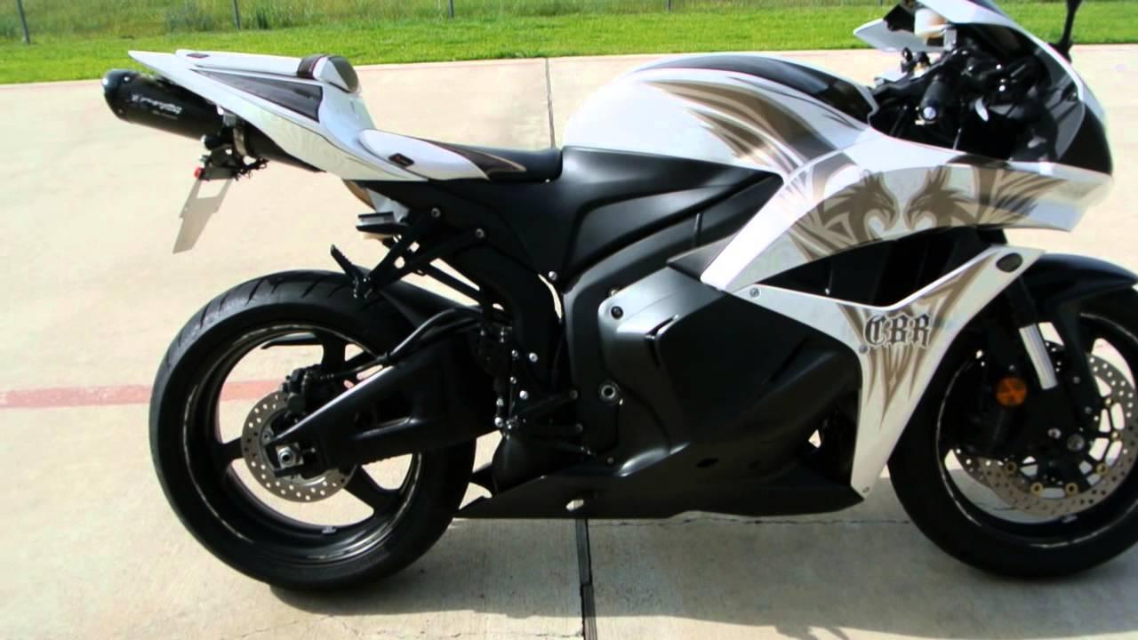 2009 Honda CBR600RR Phoenix Special Edition - YouTube