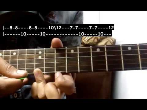 Let Me Love You Guitar Tabs Tutorial Justin Bieber Shubham Joshi