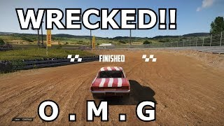 """WRECKFEST"" GAMEPLAY....Awesome Demolition race game"