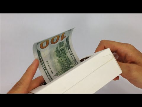 Make money fast by this homemade money printer; Yes very fast