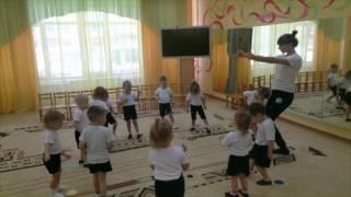 видео Утренняя гимнастика в детском саду