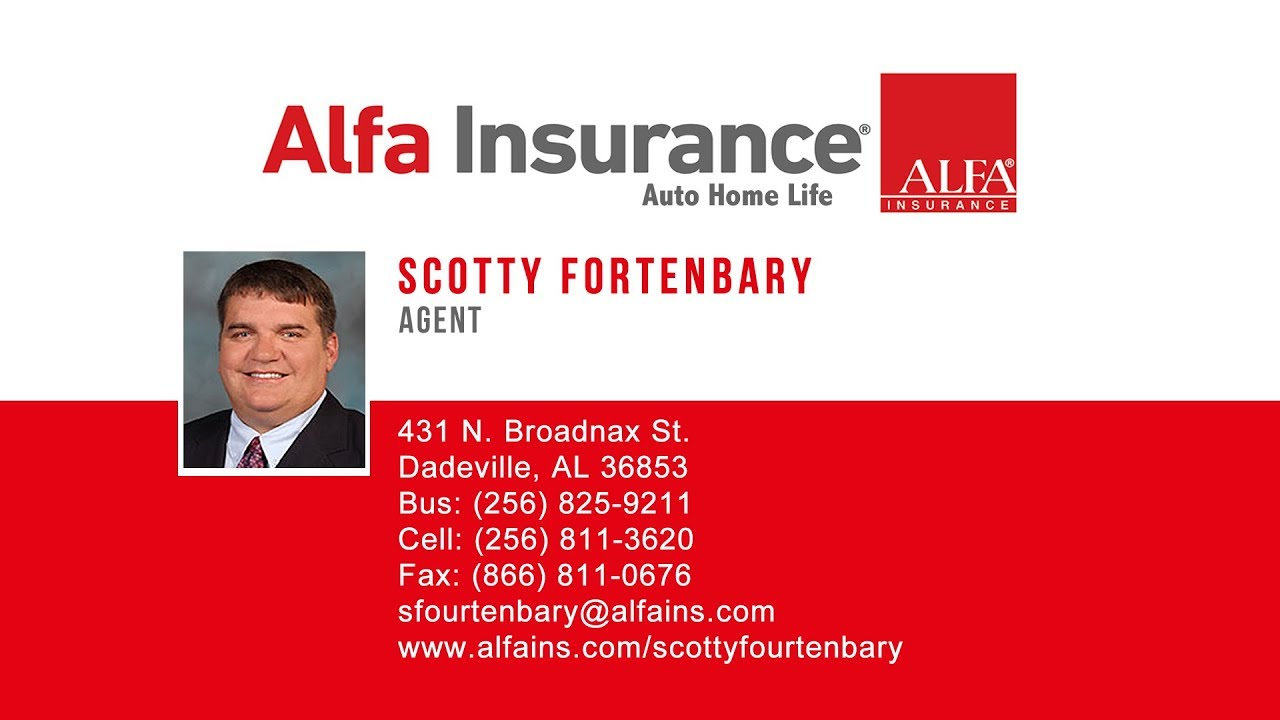 alfa insurance scotty fourtenbary081117hd youtube. Black Bedroom Furniture Sets. Home Design Ideas