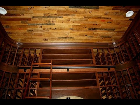 Wine Cellars Dallas Elegant Residential Mahogany Design  YouTube