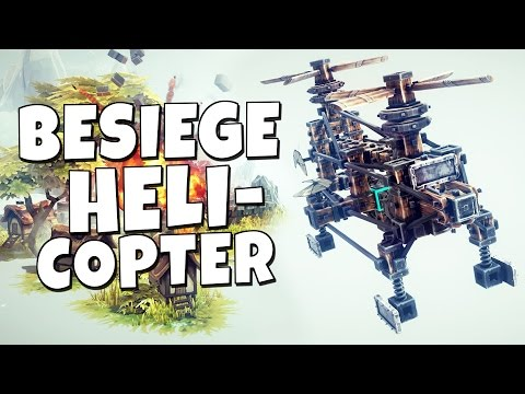 Besiege #4 - Helicopter - Chinook