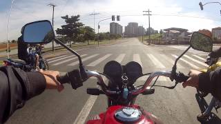 test ride cg fan 125 parte 1 leiam a descricao
