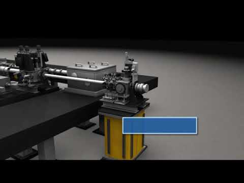 LCLS -Energy Cannon- Linac Coherent Light Source Electron Laser