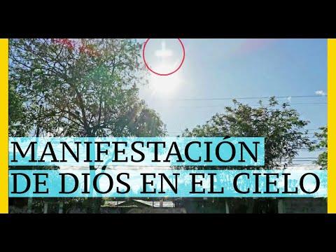 CURIOSA MANIFESTACIÓN DE DIOS EN EL CIELO