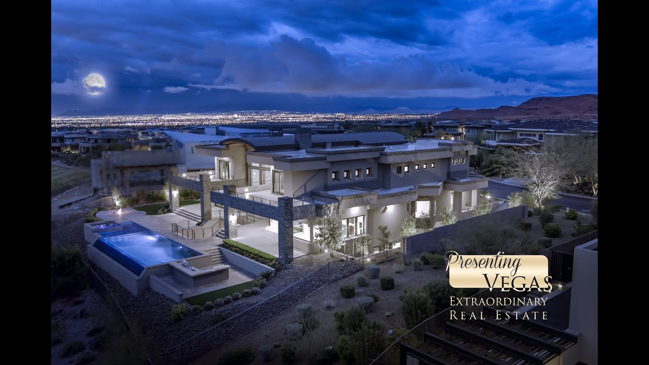 16 Soaring Bird Court, Las Vegas, NV 89135 in The Ridges in
