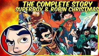 Damian Wayne Vs Superman For Christmas - Rebirth Complete Story