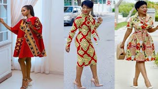 Hot And Classic Ankara Short Gowns 2019/2020 Beautiful Ankara Style Inspiration Stunning And Elegant