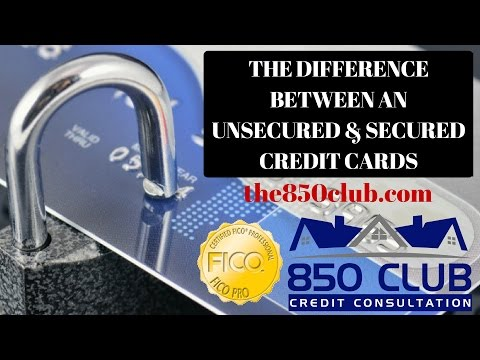 Unsecured Unsecured Credit Cards That Report To All Credit Bureaus