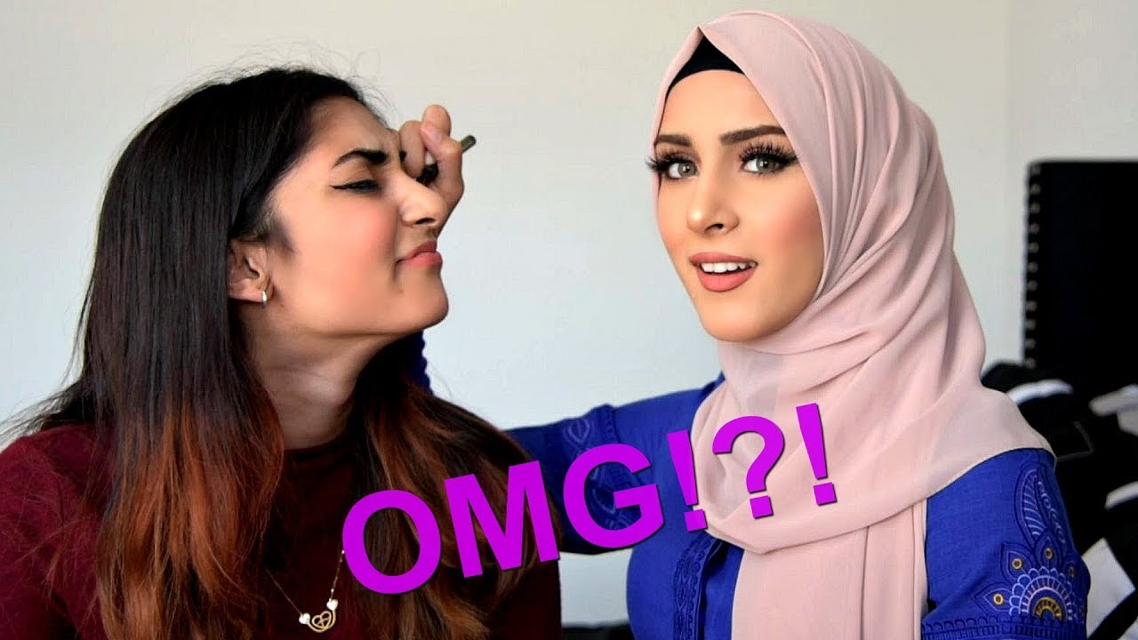 5 Minute MAKEUP CHALLENGE Ft  My SISTER