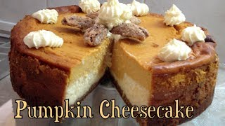 Pumpkin Cheesecake Video Recipe Cheekyricho